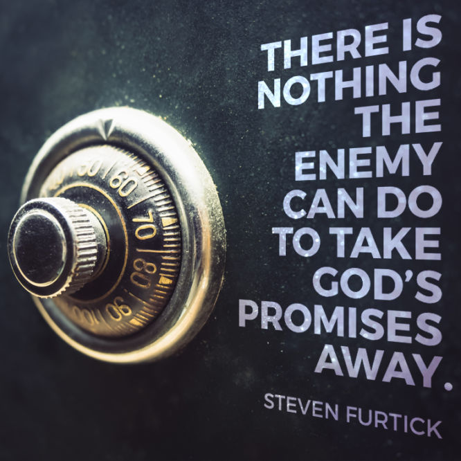 There is nothing the enemy can do to take God's promises away.