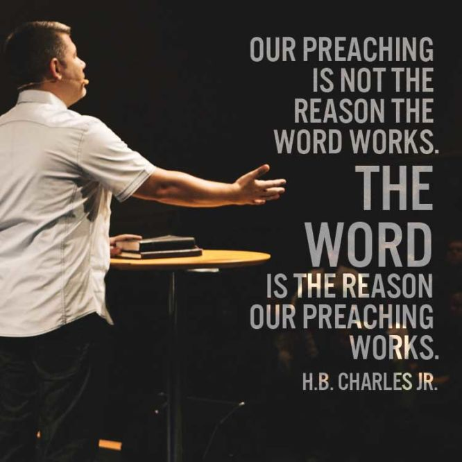 Our preaching is not the reason the word works...