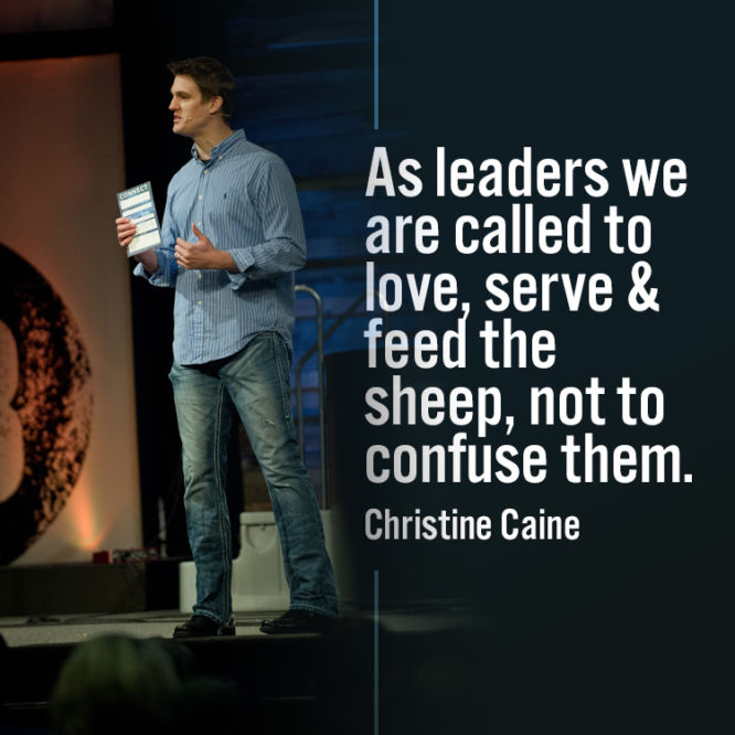 As leaders we are called to love, serve & feed the sheep