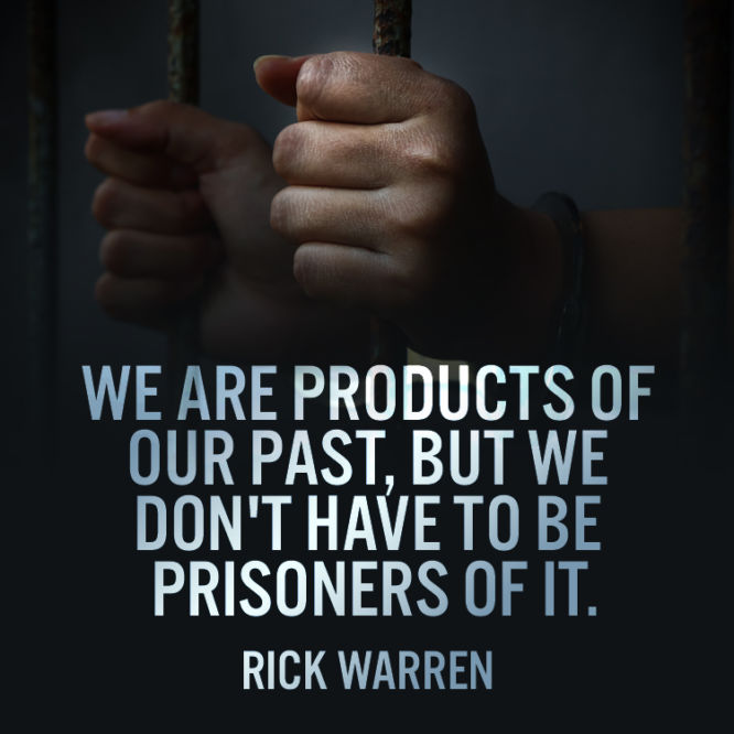 We are products of our past