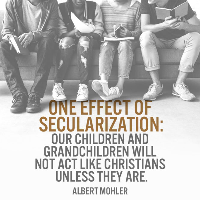 One effect of secularization