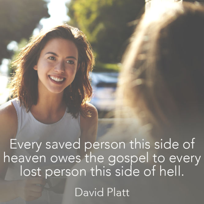 Every saved person this side of heaven