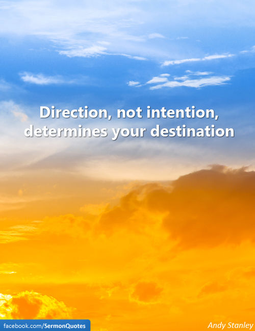 direction-determines-direction