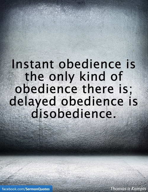 an analysis of the bible on obedience and disobedience Entry for 'obedience' - holman bible dictionary - one of 28 bible dictionaries freely available, this readable and easy to use dictionary takes advantage of the finest modern bible scholarship  the bible views disobedience as a failure to hear and do god's word (psalm 81:11.