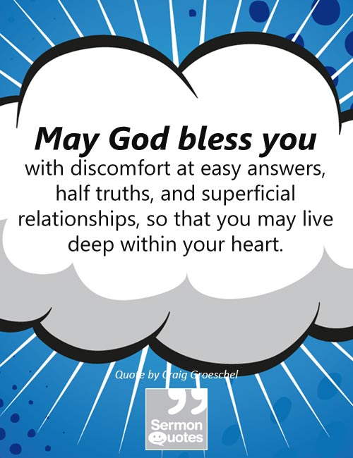 May God bless you - SermonQuotes