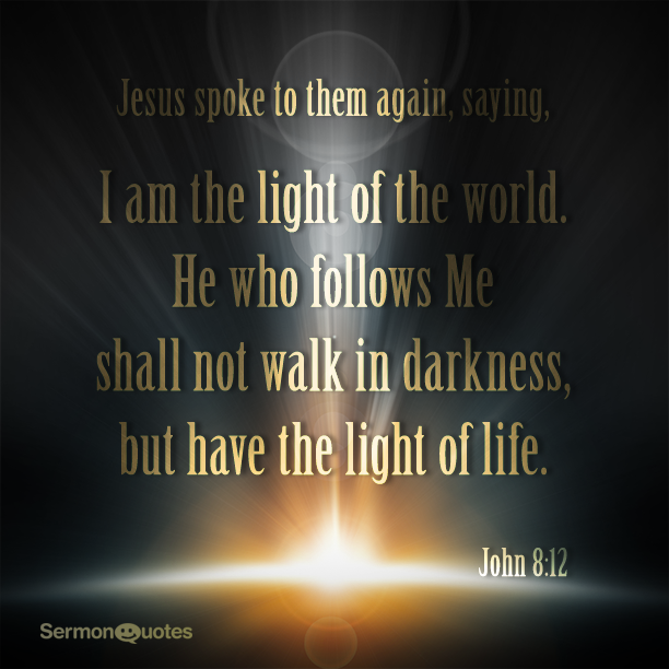 jesus i am the light of the world