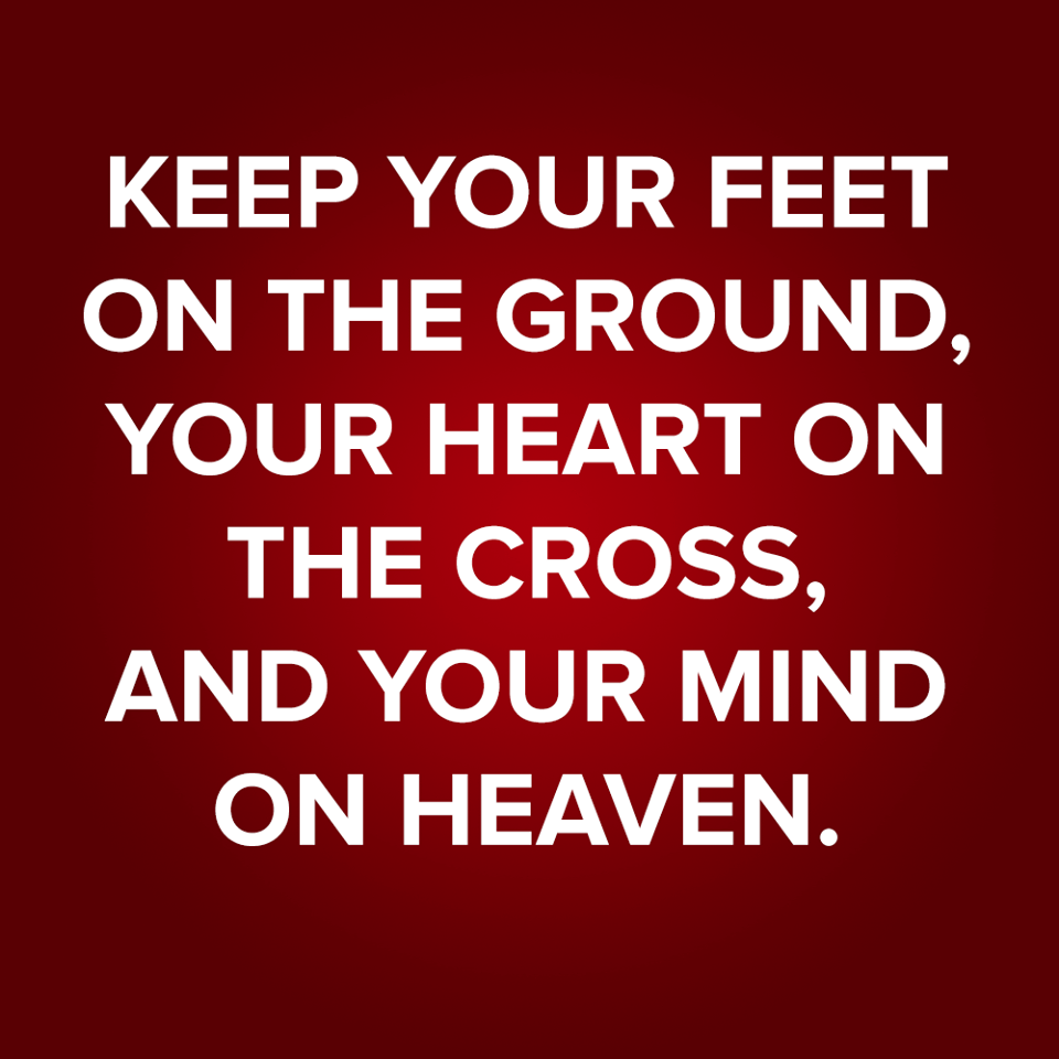 Keep Your Feet On The Ground Sermonquotes