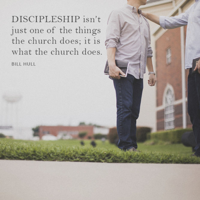 Discipleship isn't just one of the things the church does...