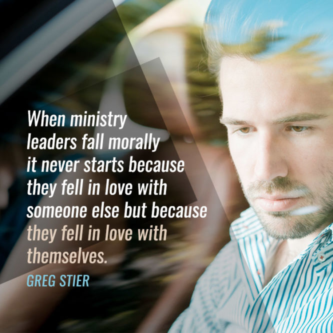 When ministry leaders fall morally it never starts because...