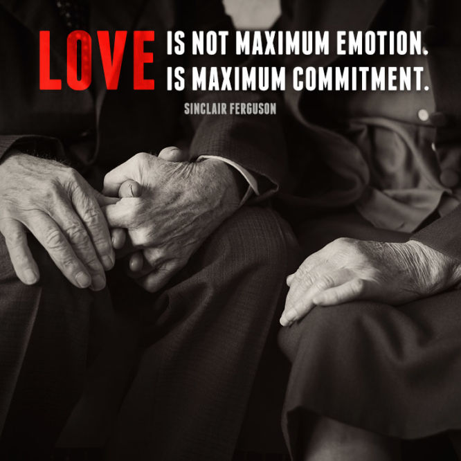 Love is not maximum emotion. Love is...