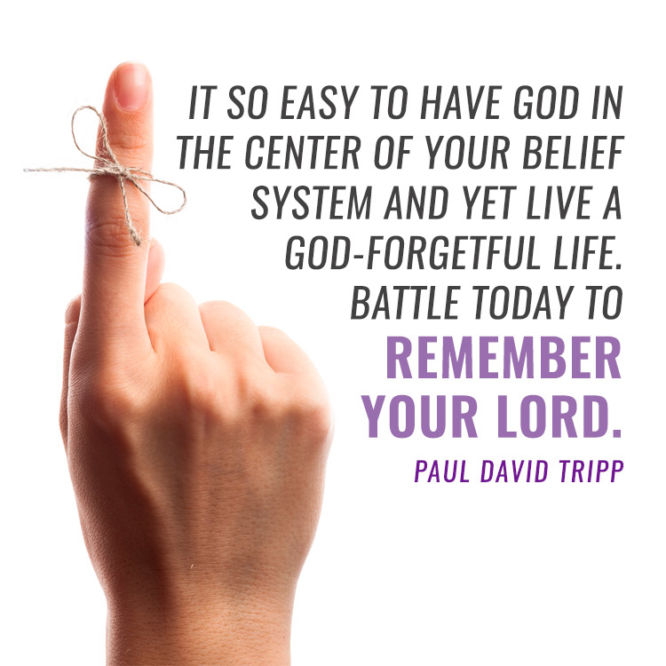 It so easy to have God in the center of your belief system...