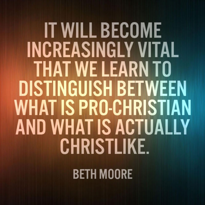 It will become increasingly vital that we learn to distinguish between what is...