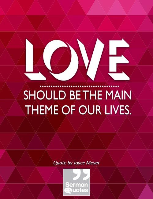 love-should-be-the-main-theme