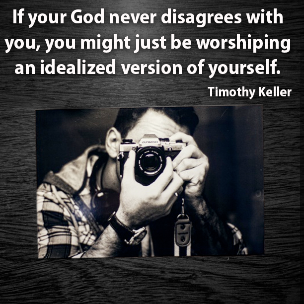 If your God never disagrees