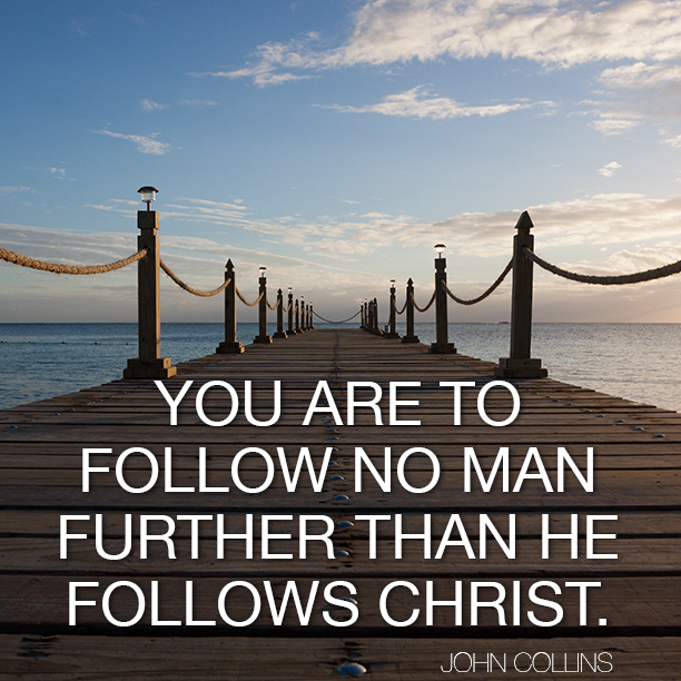 You are to follow