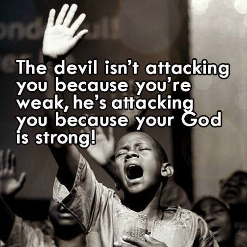 The Devil Isn't Attacking You
