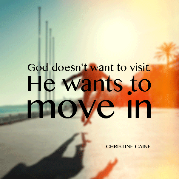 God Doesn't Want To Visit